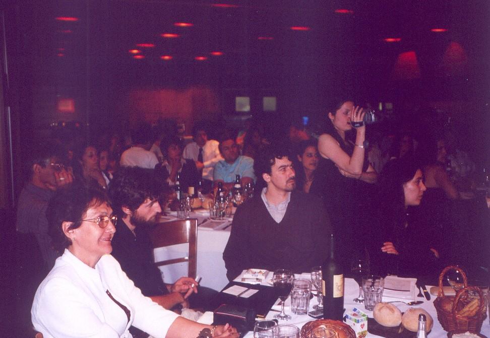 Francisca Jara, Oscar David Gómez, Daniel Miño, Alina Perrone